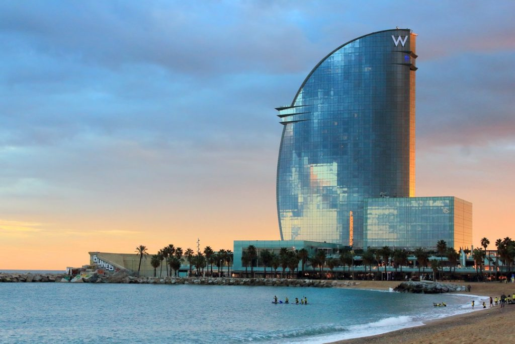 Top hotels Barcelona