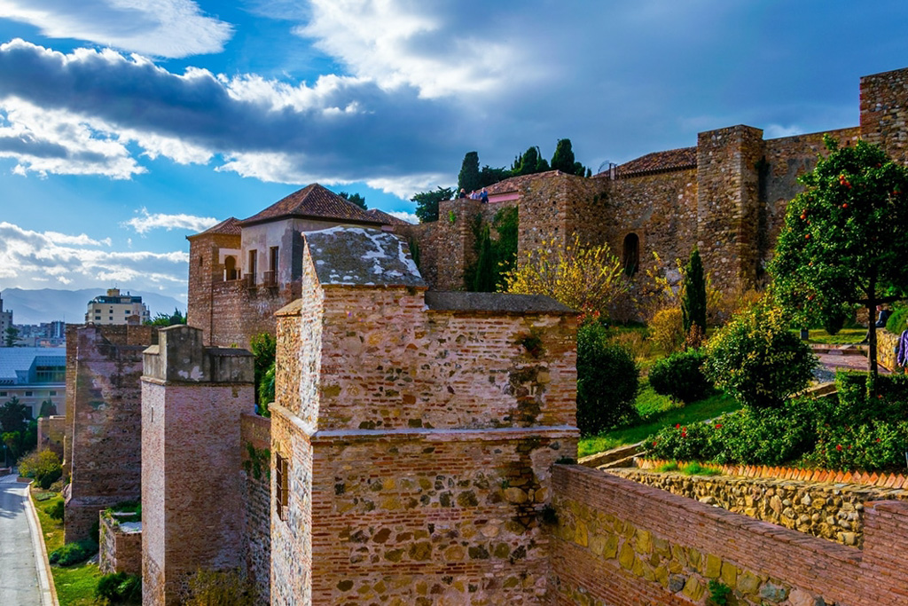 Romantic places in Malaga