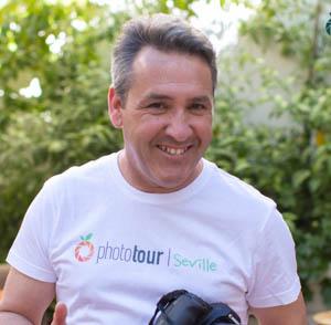 Photographer in Seville